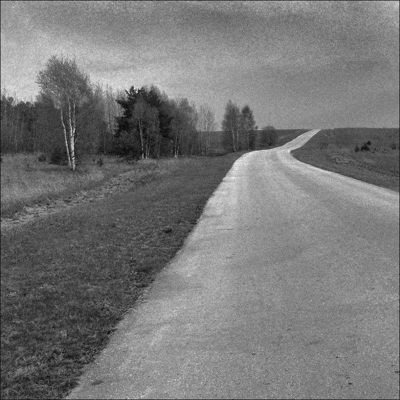 дорога А дорога серою лентою вьется...photo preview