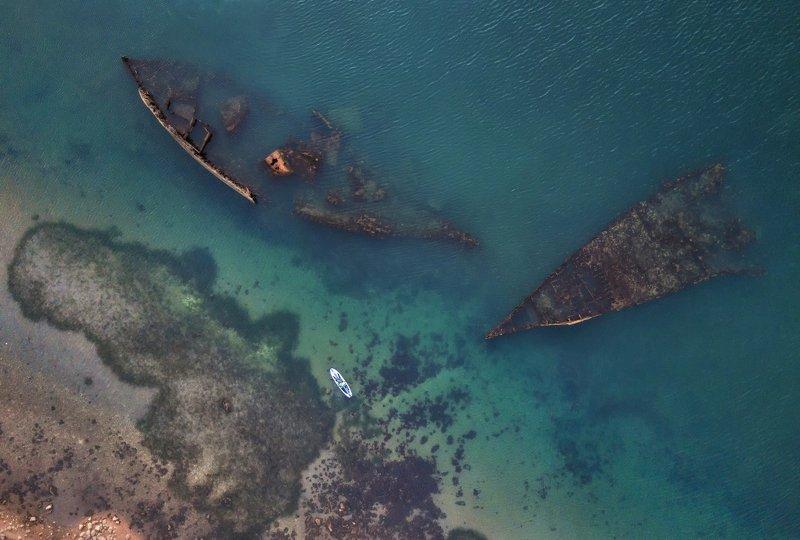 Приморье. Кладбище кораблей.photo preview