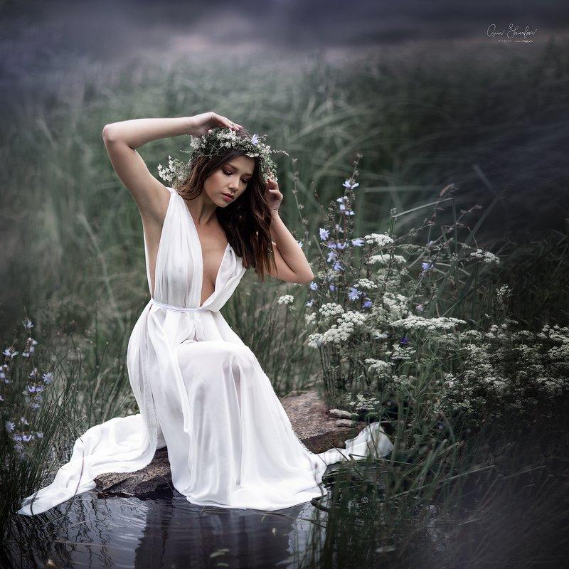 портрет красота девушка арт Нимфаphoto preview