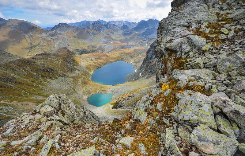 горы, перевал,озера Лазурьphoto preview