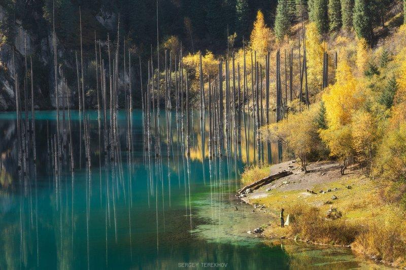 каинды, казахстан, кунгей алатау, пейзажи казахстана, фото казахстана, коянды, фототур казахстан, горы казахстана, озера казахстана, сентябрь, осень в казахстане, Каинды озероphoto preview