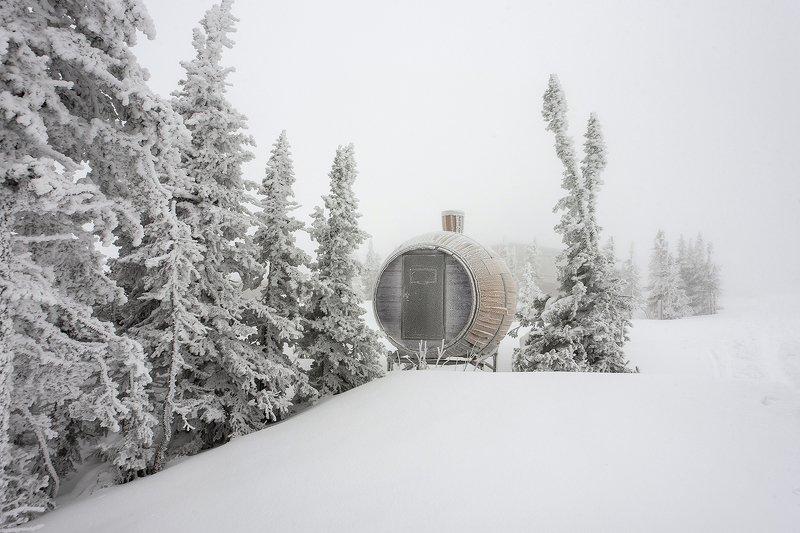 снег, иней, мороз, зима, пихты, гора зелёная, шерегеш, горная шория, сибирь И снова Шерегеш ... ;)photo preview