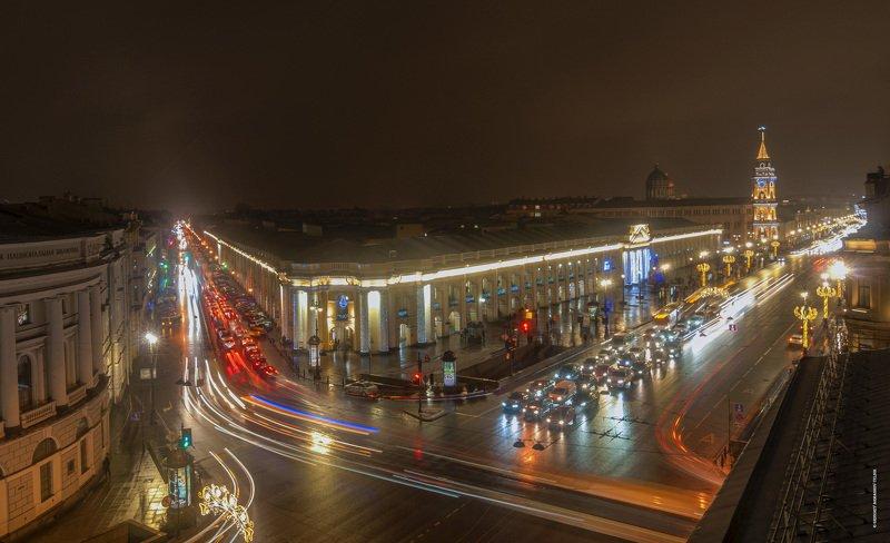 город, архитектура, long exposure, cityscape Гостиный Дворphoto preview
