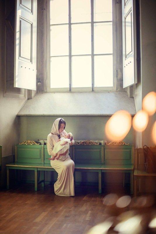 Крещение в Никольском соборе photo preview