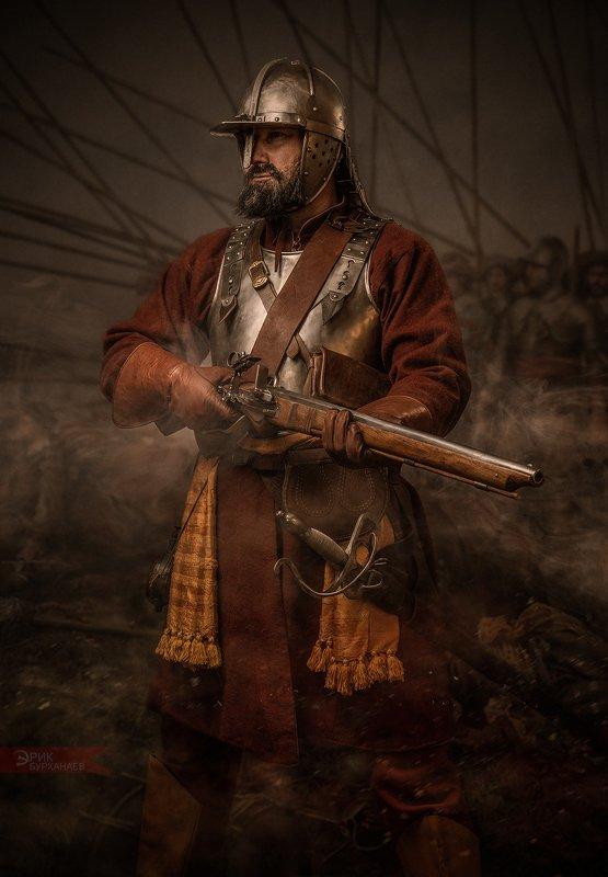 воин, рейтар, 17век, битва НОВЫЙ СТРОЙphoto preview