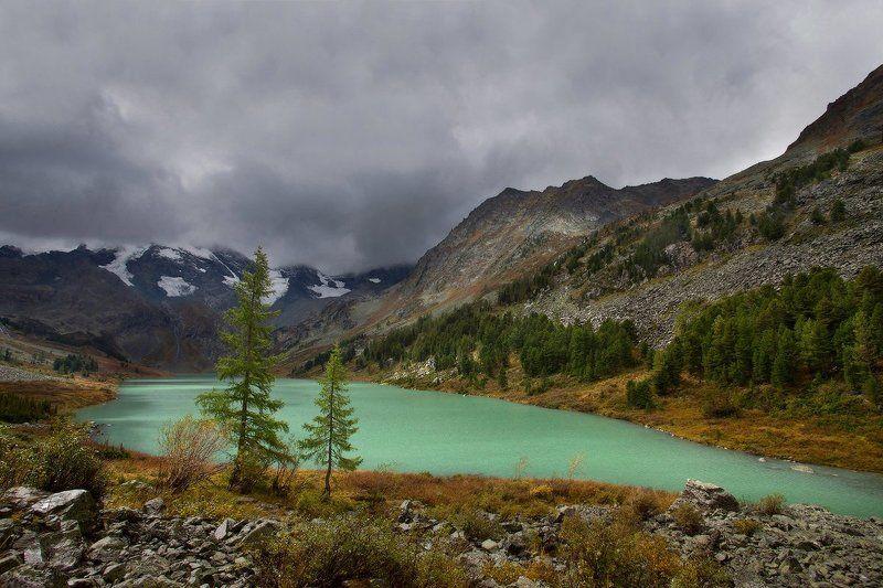 алтай, горный алтай, горы, пейзаж, поперечное озеро Поперечное озероphoto preview