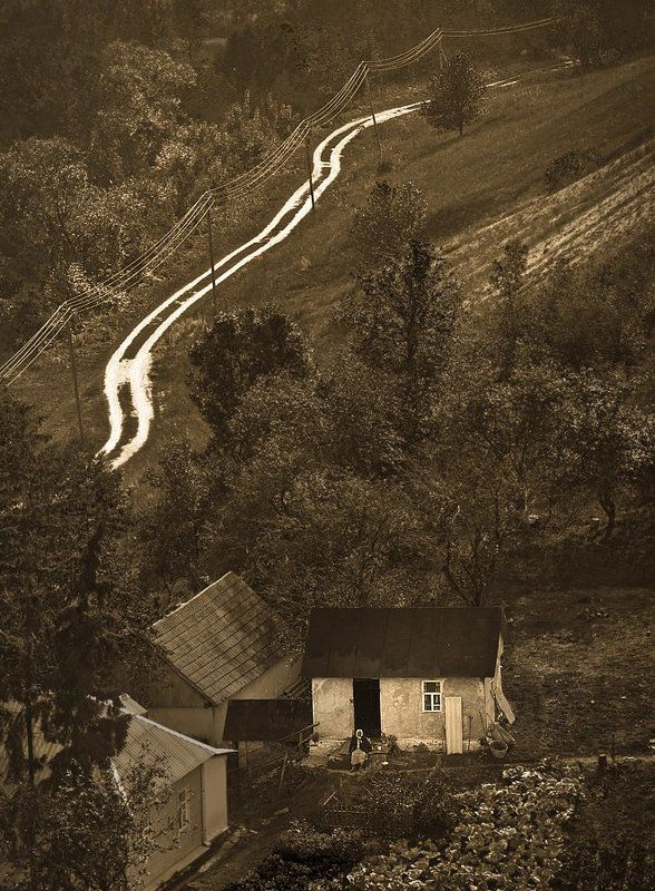 деревня, село, бабушка \
