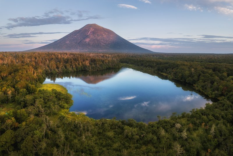 Итуруп. Вулкан Атсонупури.photo preview