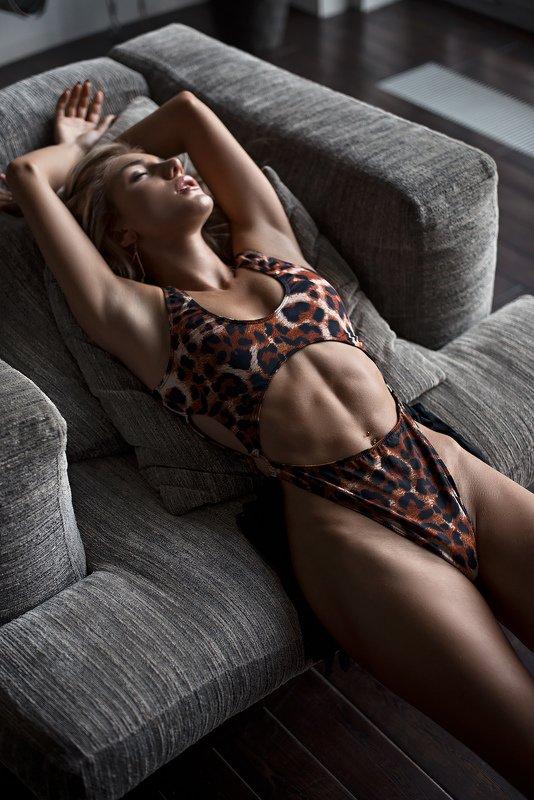 купальник, белье, леопард ***photo preview