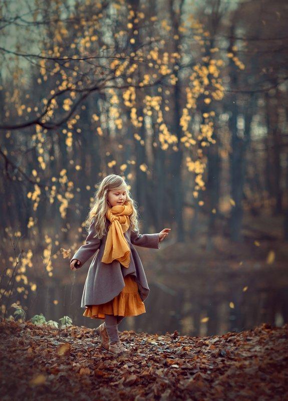 девочка, осень, волшебная фотография, детская фотосессия, детская фотография, катрин белоцерковская, kateblc Осеньphoto preview
