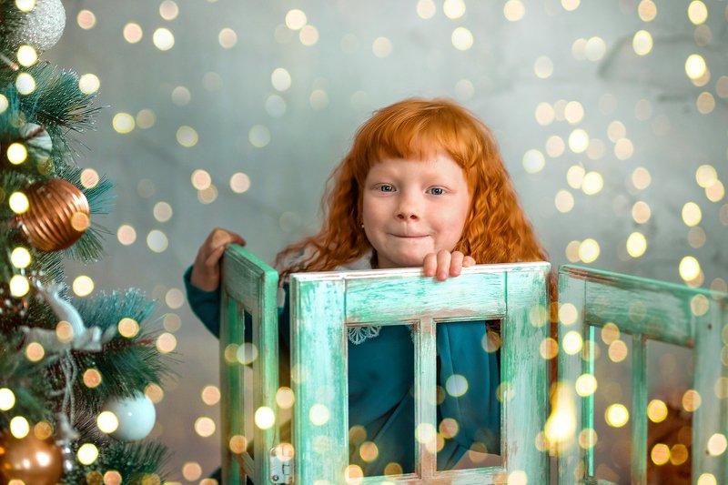 девочка, сказка, рыжая девочка, портрет, дети, детская фотография Рыжикphoto preview