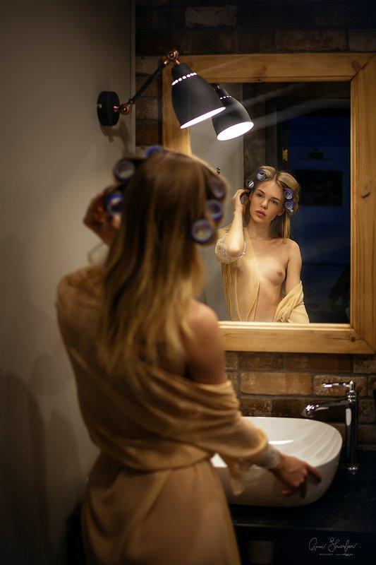 портрет красота девушка арт Утромphoto preview