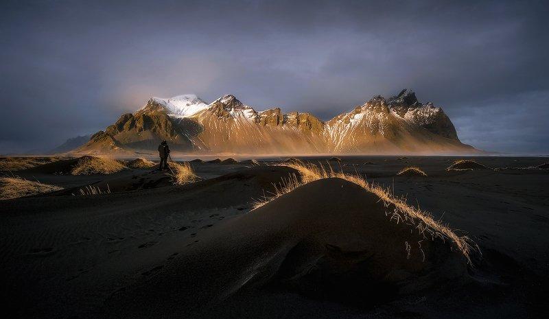 исландия, маяк, вестрахорн Ландшафты Исландии...photo preview