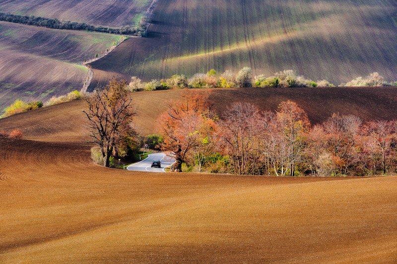 Яркая моравская осень фото превью