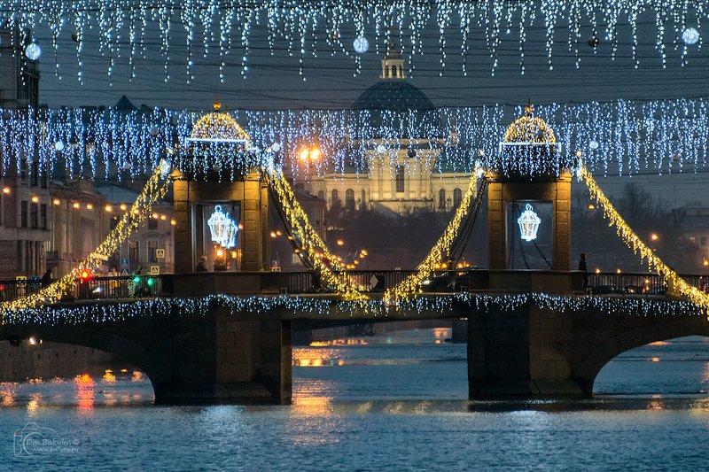 Чернышёв мост и Измайловский соборphoto preview
