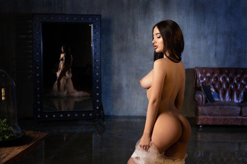 арт-ню женский портрет Светлый ангелphoto preview