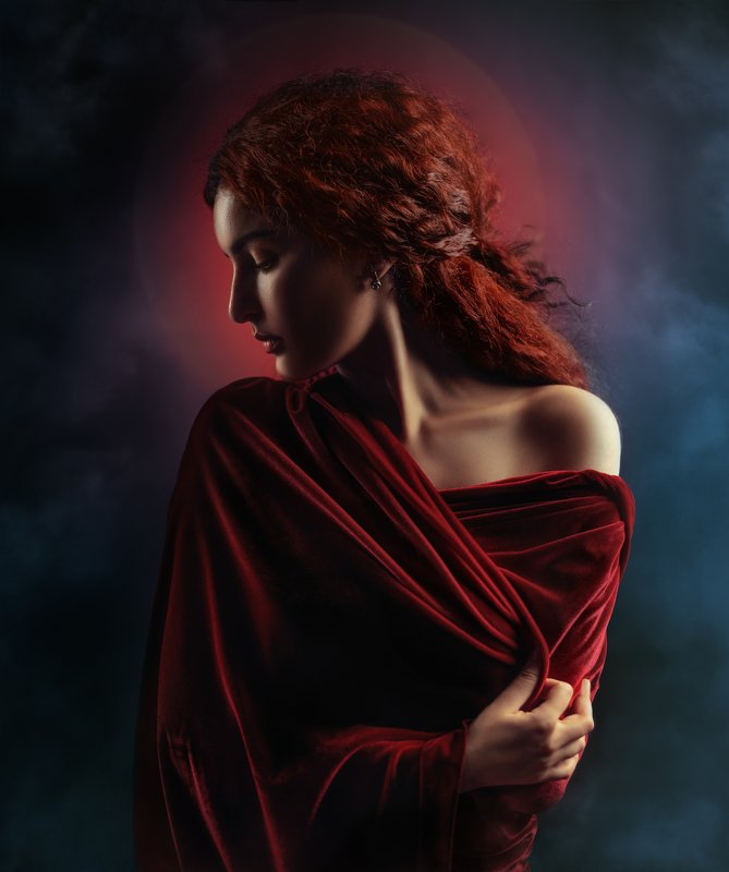 #портрет #redhead #portrait #portraitphotography #рыжая #girl #beauty #model Миленаphoto preview