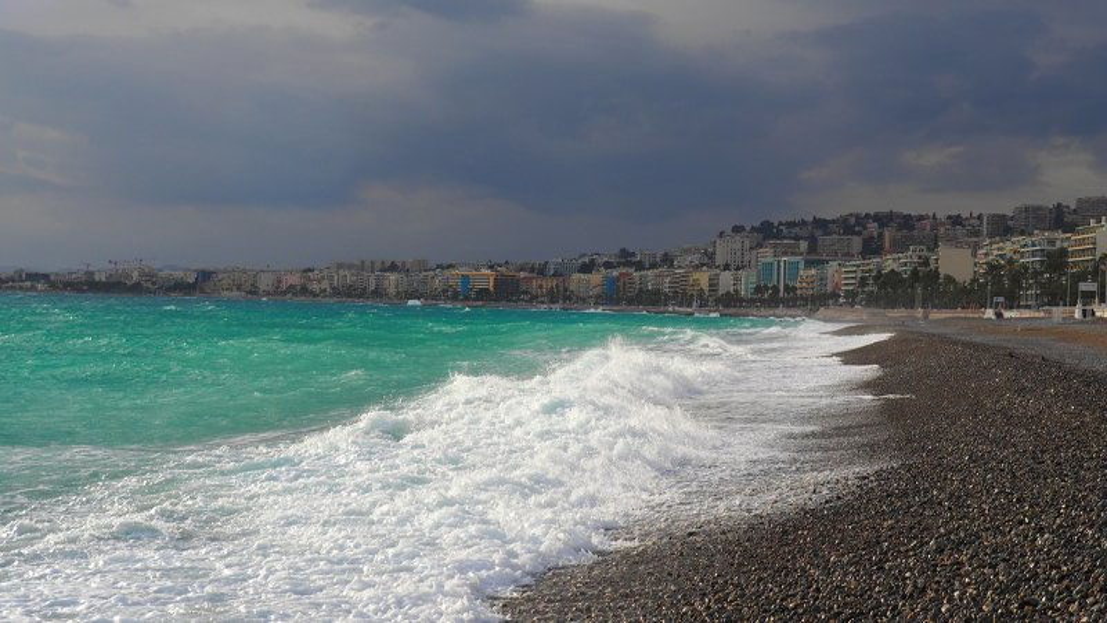 Лазурный берег, зима.photo preview