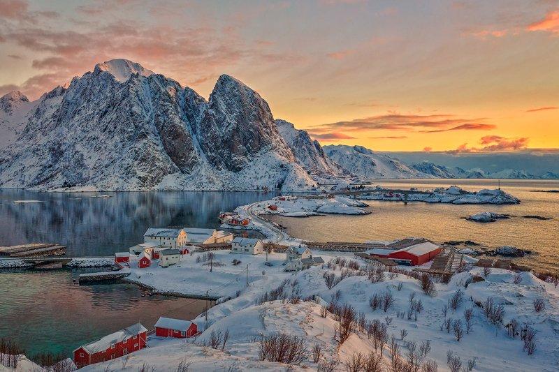 landscape Lofoten islandsphoto preview