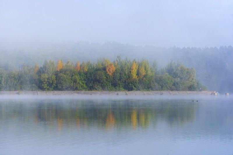 утро, туман, солнце Уходит утренний туман...photo preview
