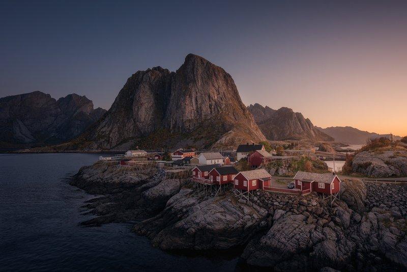 рейне, пляж, норвегия, лофотенские острова, море, пейзаж, природа, nikon, закат Рейнеphoto preview