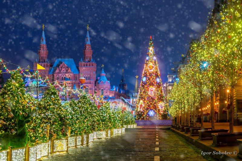новый год, москва, красная площадь, new year, moscow, red square С Новым годом!photo preview