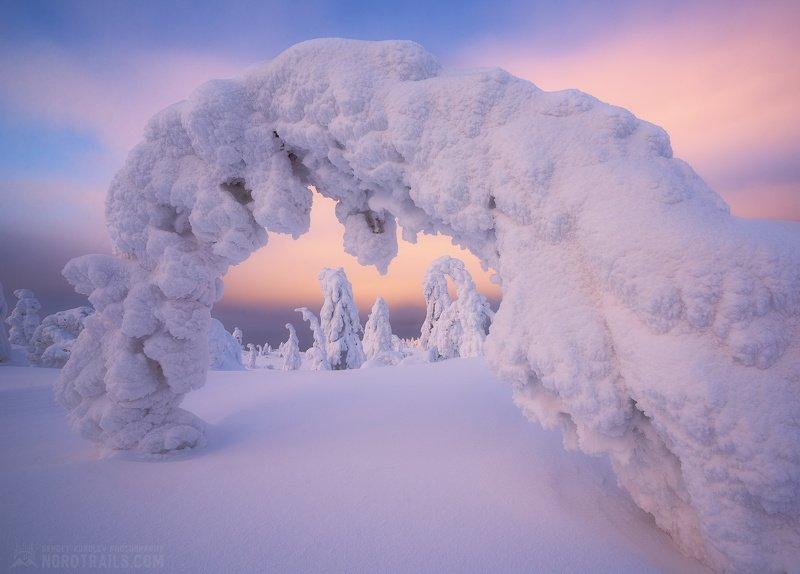 кольский, кольский полуостров, кандалакша, зима, winter, snow, north Зимняя сказка на Кольскомphoto preview