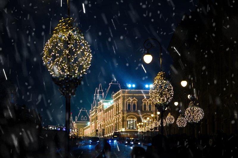 Москва новогодняя!photo preview