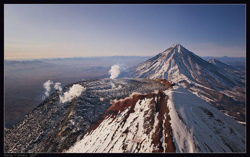 над кратером Авачиphoto preview