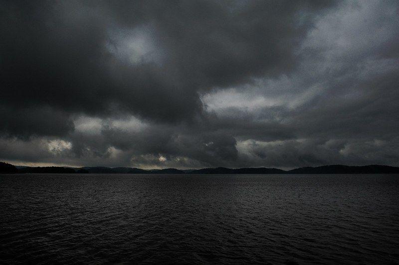 Гроза на Ладоге.photo preview