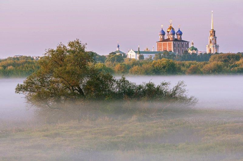 кремль, утро, туман Утро туманное...photo preview