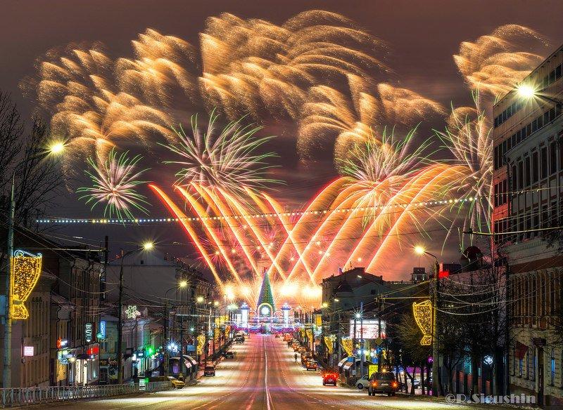 город тула новый год фейерверк Тула! Новогдняя ночь 2020.photo preview
