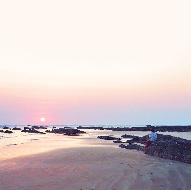 закат, море, океан, гоа, медитация, релакс sunset meditationphoto preview