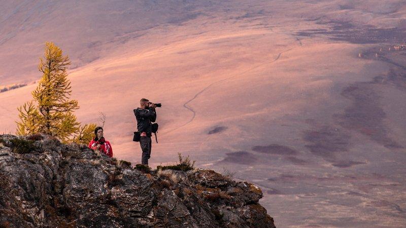 горы, алтай, горный алтай, ник васильев, красота, вечер, закат, люди, фотограф, скала, простор, точка съёмки, Точка съёмки.photo preview