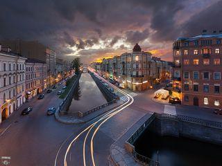 Кокушкин мост, канал Грибоедова