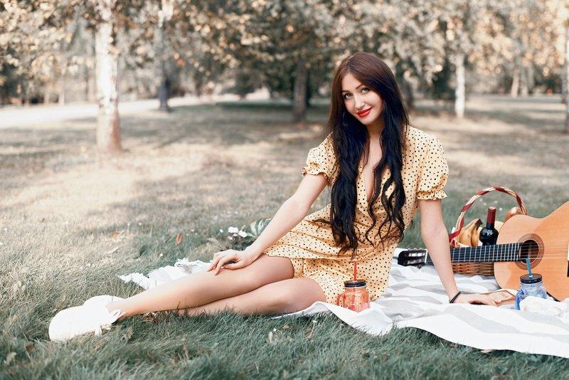 пикник, платье, свежесть Пикникphoto preview