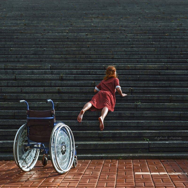 portreit people girl woman irinadzhul dzhulirina disability \