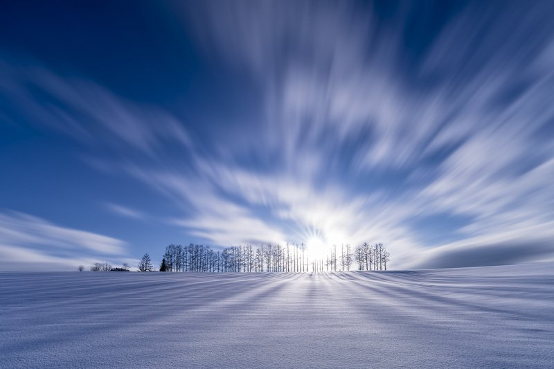 #landscape #seascape #snow japan #hokkaido # Fairy Wingsphoto preview