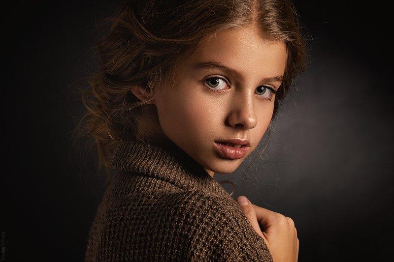 девушка, портрет, милая, cute, girl, portrait, детская фотография Kristinaphoto preview