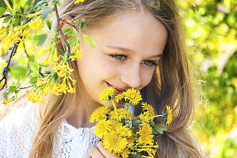 Улыбка весны.photo preview