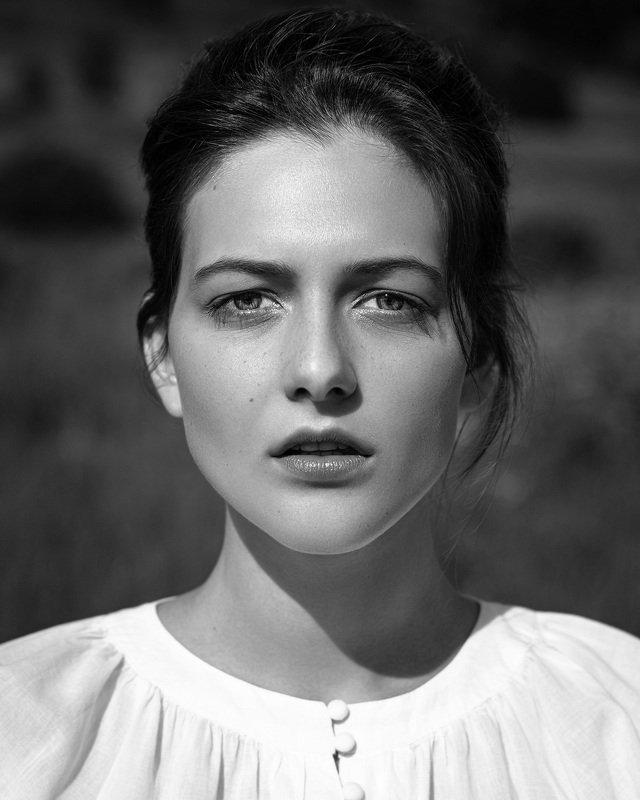 portrait, портрет, bnw, black, and, whithe, woman Anastasiaphoto preview