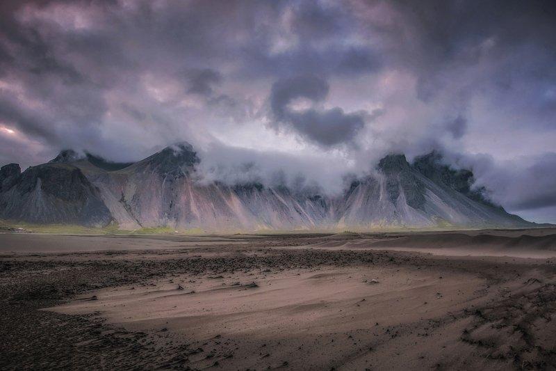 исландия,iceland mystical Stokksnesphoto preview