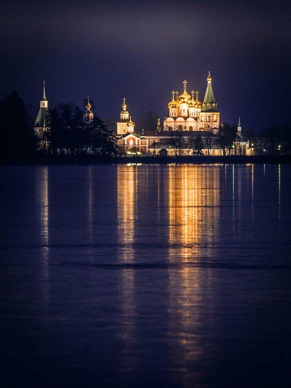 иверский монастырь, валдай Первый лёдphoto preview