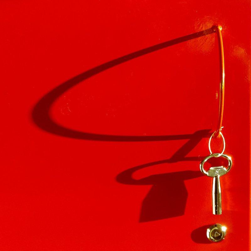 красный, квадрат, абстракция, свет, тень, утро, работа, фотография, Красный квадрат (не Малевич)photo preview