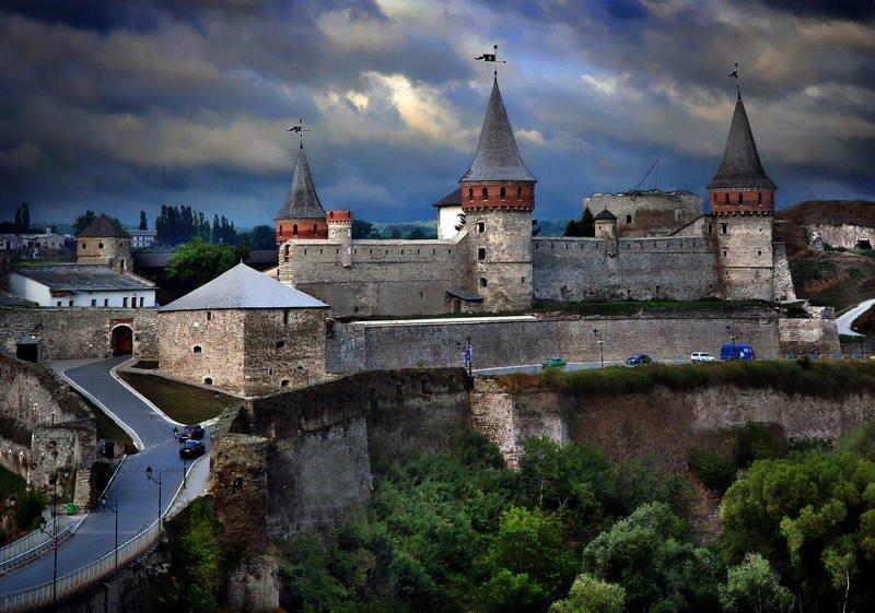 замок, каменец-подольский, крепость, украина Над пропастью …во РЖИ! :)photo preview
