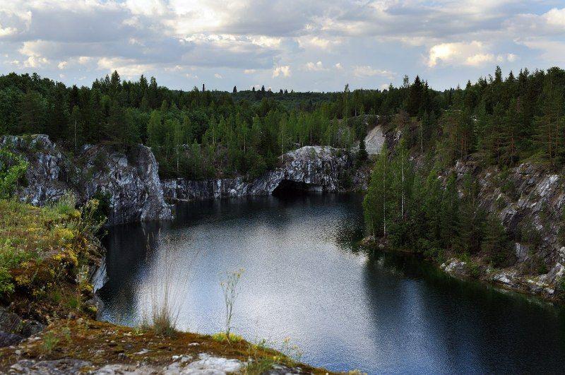 Рускеальский горный парк.photo preview