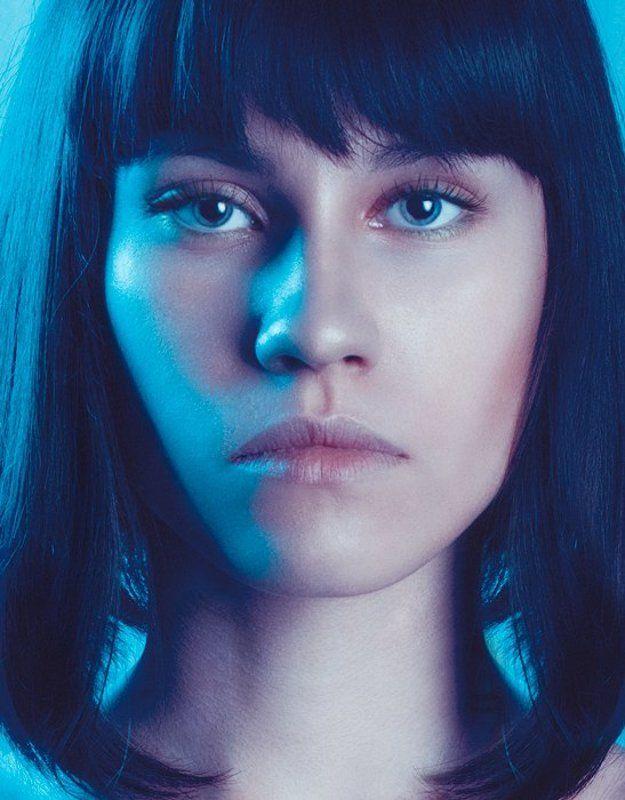 model,girl,lips,eyes,dark,blue Model testphoto preview