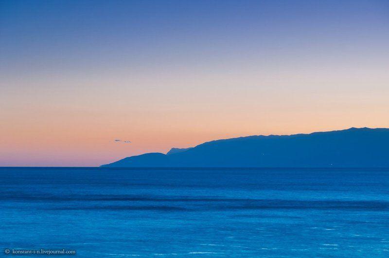 пейзаж, море, закат Закатные краскиphoto preview