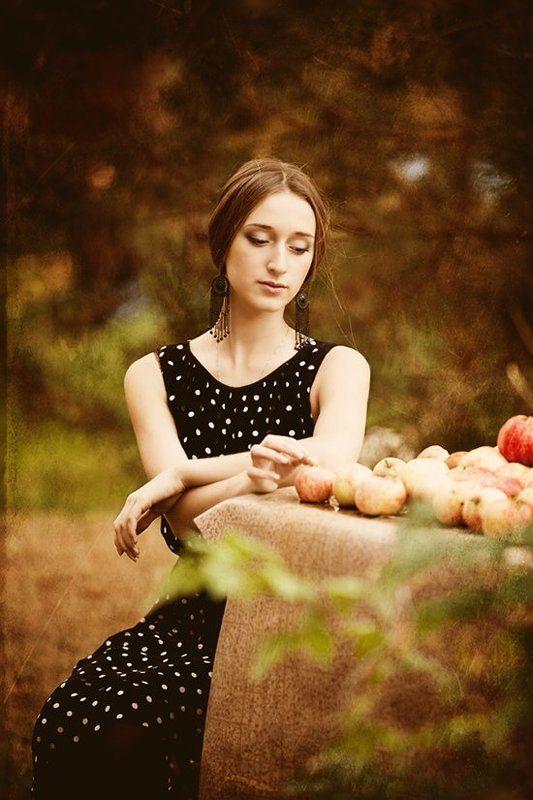 портрет,девушка,осень ***photo preview