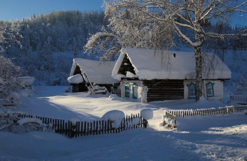 кузбасс, горная шория, снег, зима В сибирских снегахphoto preview
